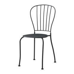 Les matériaux de ce meuble d'extérieur ne nécessitent aucun entretien. Nettoyage facile - passer un chiffon humide. Le trou dans l'assise permet à l'eau de s'écouler. Empilable, ce qui permet de gagner de la place.