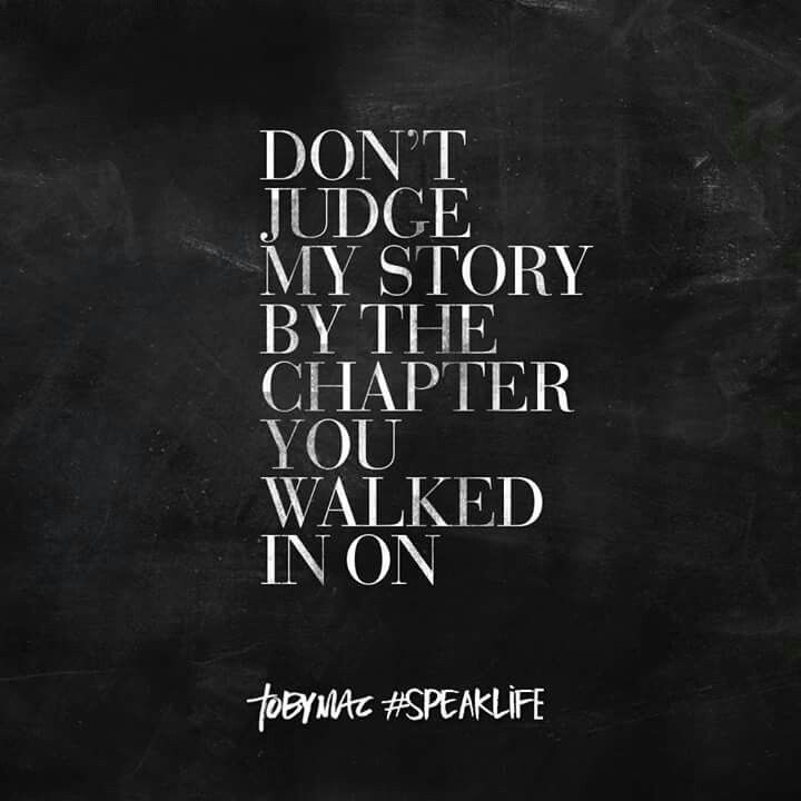 Don't judge my story by the chapter you think you know...
