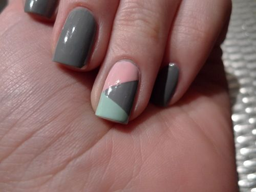 i like this but in different colors! nails!