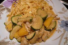 Hähnchen-Mango mit Ingwer und grüner Currypaste (Rezept mit Bild) | Chefkoch.de