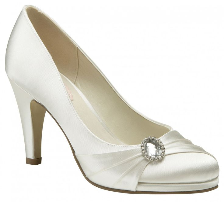 Strawberry By Paradox Pink Ivory Wedding Shoes At The Boutique
