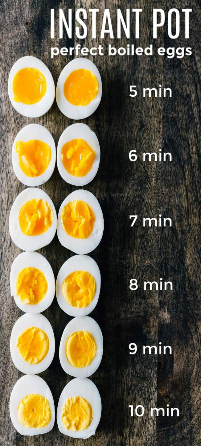 Instant pot hard boiled eggs are quick simple and ...