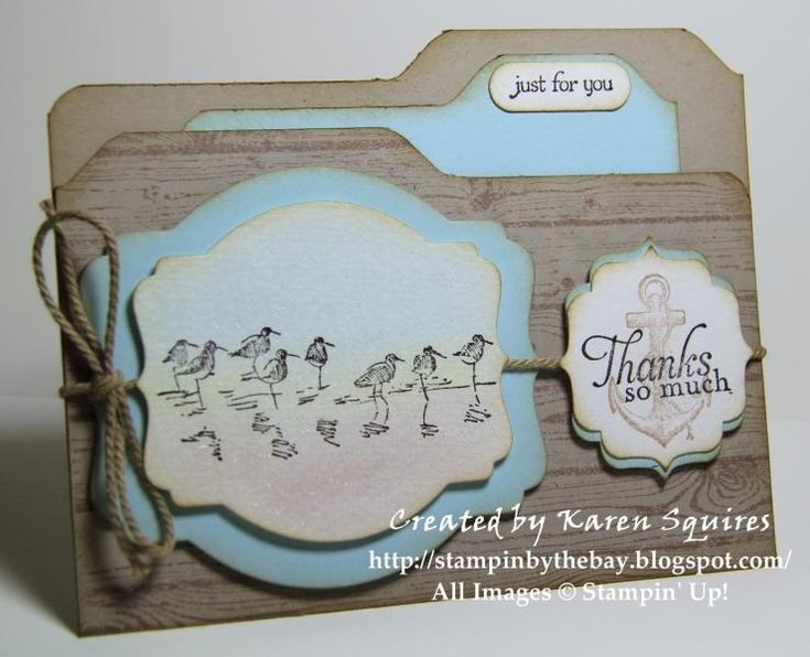File Folder Gift Card Holder by kvsquires - Cards and Paper Crafts at Splitcoaststampers