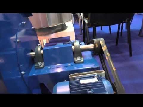 Вентилятор центробежный с радиальными лопатками