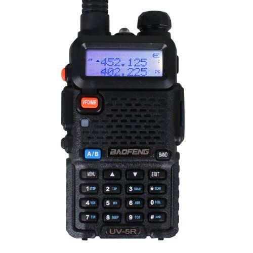 Two-Way Radio BAOFENG UV-5R Professional FM Transceiver Dual Band Frequency Protable Radio by OEM SYSTEMS COMPANY. $41.39. General Frequency Range: UHF 400-480MHz VHF 136-174MHz(dual band)  Channel Capacity: 128 Channel Spacing: 2.5/5/6.25/10/12.5/20/25KHz Operated Voltage: 7.4V Battery Capacity: H-1800MAh Li-ion Battery Life(5-5-90 duty cycle): About 12 hours Frequency Stability:±2.5ppm Operated Temperature: -20°C-+60°C Antenna Impedance:50? Dimensions:109.5mm×5...