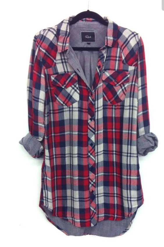 Cute Plaid tunic top. Stitch fix inspiration.  Try stitch fix :) personal styling service!   1. Sign up with my referral link. (Just click pic)  2. Fill out style profile!Make sure to be specific in notes.   3. Schedule fix and Enjoy :)   There's a $20 styling fee but will be put towards any purchase!: