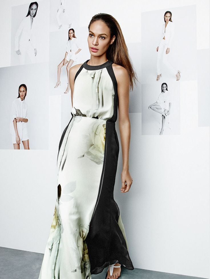 Glam it up. Joan Smalls for Studio.W