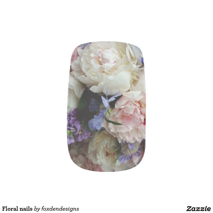 Floral nails minx® nail wraps