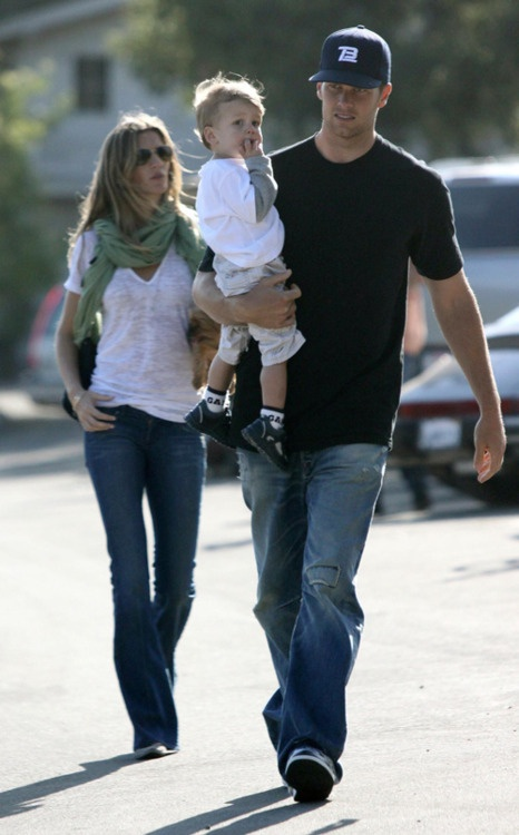 Tom, Gisele, and Benjamin