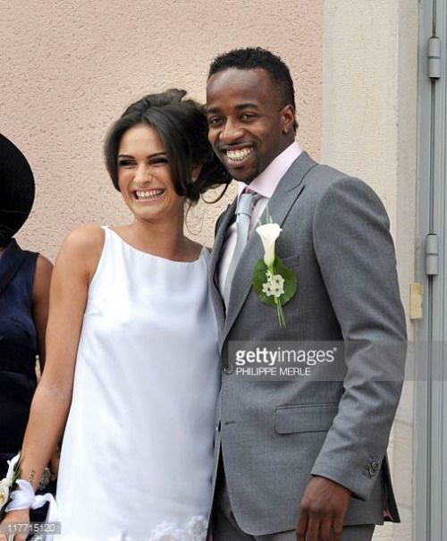 06-03 French football player Sidney Govou and his wife Clemence... #replonges: 06-03 French football player Sidney Govou and… #replonges