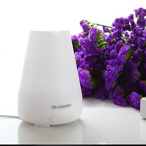 Special Offers - Essential Oil Diffuser Showpin Portable Aromatherapy 100ML Humidifier with Timing Settings Zero Noise Waterless Auto Shut-off Function 7 Color LED LightsFor Home/office/Yoga/spa - In stock & Free Shipping. You can save more money! Check It (March 31 2016 at 02:37AM) >> http://hepaairpurifierusa.net/essential-oil-diffuser-showpin-portable-aromatherapy-100ml-humidifier-with-timing-settings-zero-noise-waterless-auto-shut-off-function-7-color-led-lightsfor-homeofficeyogaspa/