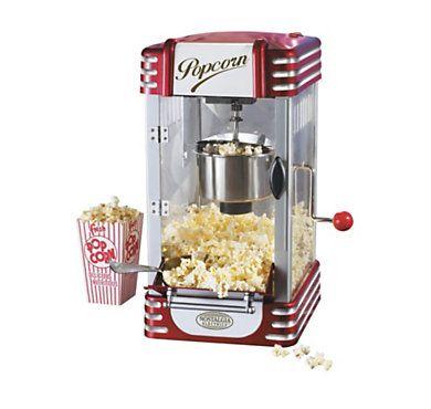 Machine à Pop Corn Simeo au design inspiré des années 50