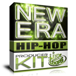 """""""New Era Exclusive Producer Kit"""" is a brand new HexLoops hip hop sound kit created after months of work and studio production. Hundreds of exclusive and original sounds will give a new sound to your work."""