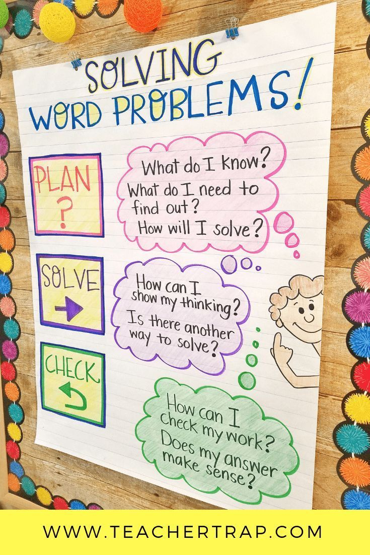 Pin On Anchor Charts Problem solving involving adding and