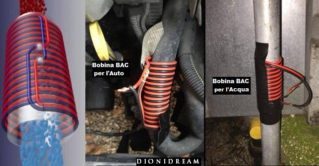 Bobina BAC – Ecco come costruirla per risparmiare su acqua, gas e carburante
