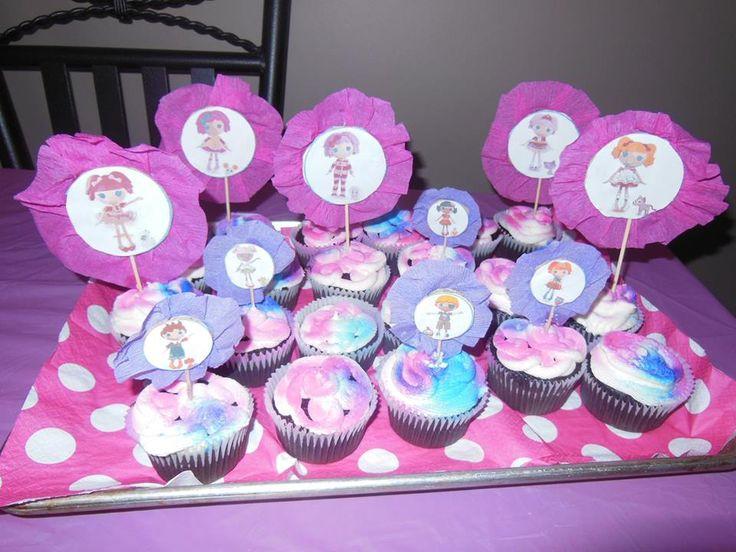 Lalalopsy cupcakes