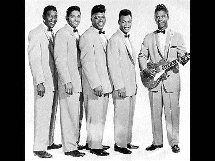 From 1959, here's the great group, The Coasters singing 'Poison Ivy' love love love hulle