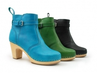 Swedish Hasbeens: Green Shoes, Hasbeens High Heeled, Swedish Hasbeens, Clog Boots, Sick Boots, Hasbeens Jodhpurs, Green Joghpurs, Boots Real