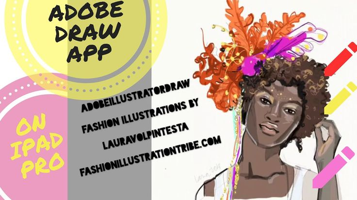 Adobe Illustrator Draw app for Fashion Illustration on Ipad- Timelapse s...