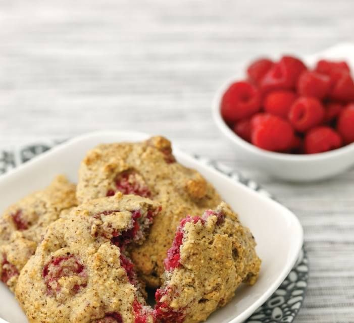 """Double CLICK PIC for Recipe.... ...Raspberry Drop Scones ,,,  ...Recipe by George ... ...For tons more Low Carb recipes visit us at """"Low Carbing Among Friends"""" on Facebook"""