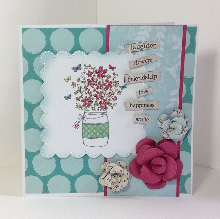 Card designed using the Bohemian Dreams Collection by Julie Hickey