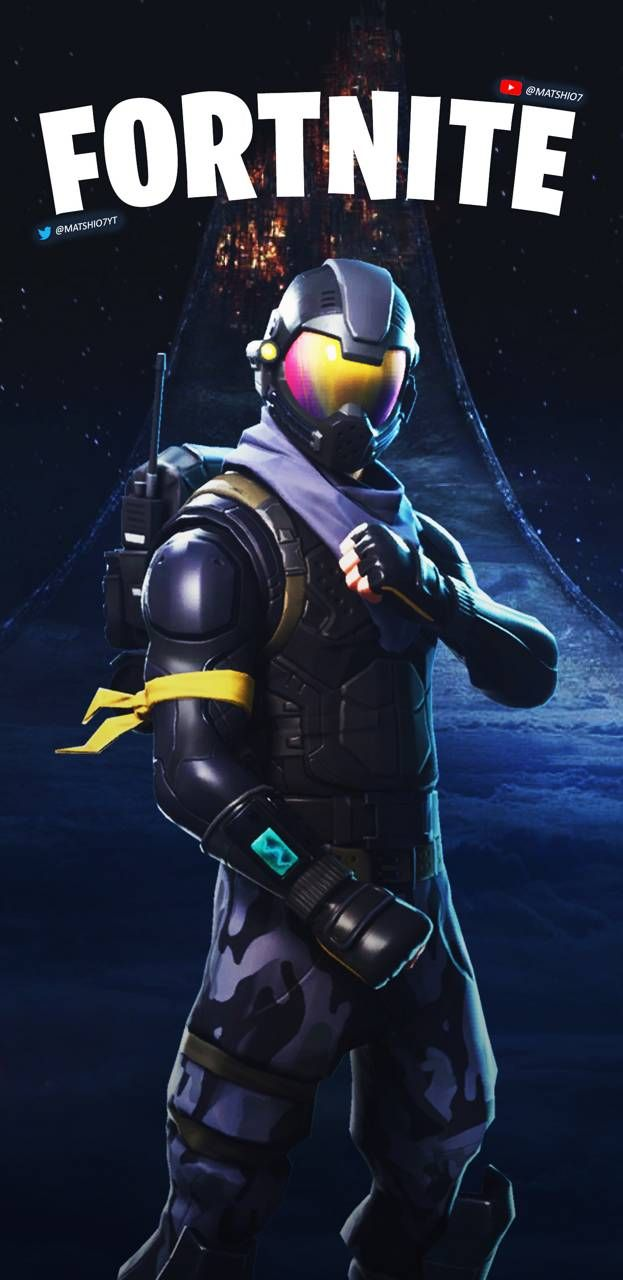 Fortnite Halo Hd wallpaper android, Android wallpaper