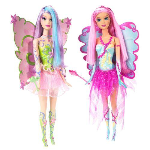 barbie fairytopia dolls | Barbie Fairytopia Mermaidia 2006 - Water Fairy Dolls