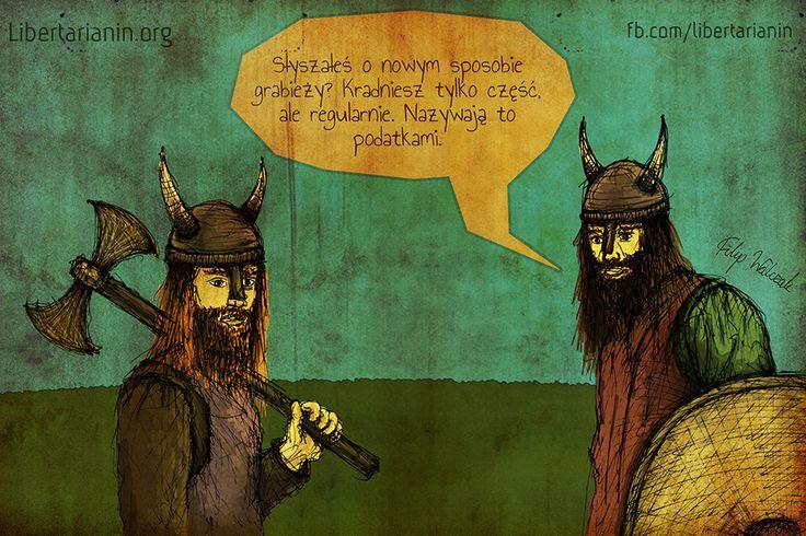 #podatki #taxes #libertarian #vikings