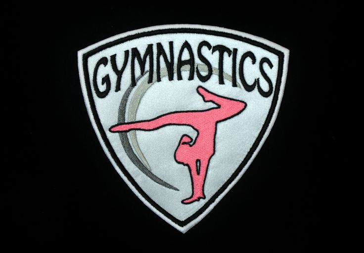 Gymnastics Embroidered Patch | SportBling Medal Display