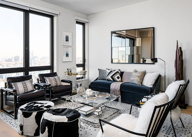 Check out how decor aid in less than 48 hours transformed this one bed downtown brooklyn apartment into a chic and contemporary apartment