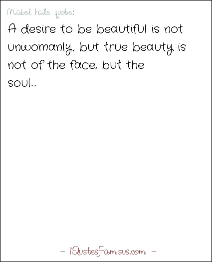 beauty of face or beauty of soul essay Outer beauty vs inner beauty: we have it backwards  it just got me to realize that she didn't realize that her inner self could use a face lift and that it was an important thing to do so .