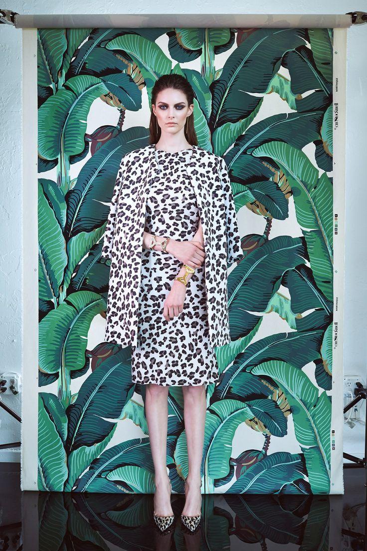 Cushnie et Ochs, pre-spring/summer 2015. Leopard never dies!