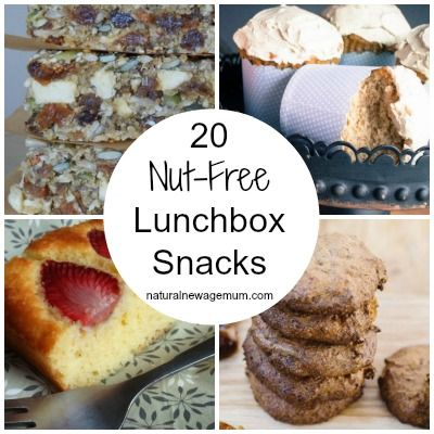 20 Nut Free Lunchbox Snacks - Natural New Age Mum