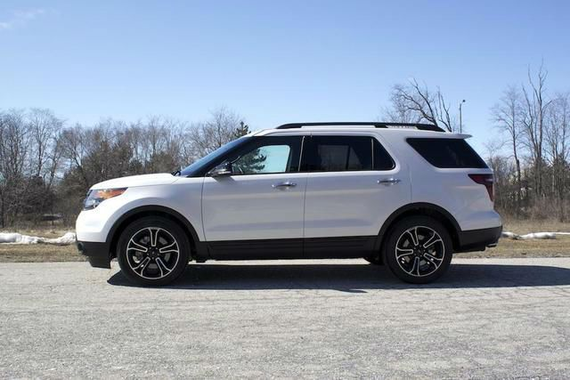 My new car! Cannot wait to pick this baby up! 2015 Ford Explorer Sport White