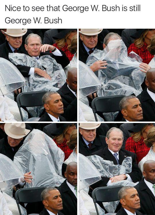 "tastefullyoffensive: ""George W. Bush is the Michael Scott of Presidents. (via mo_wad/brokuski) """