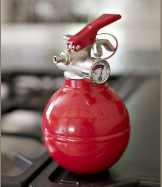 fire extinguisher..........Design for Kitchen....!