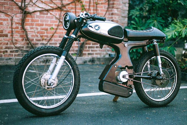 Das 929-Dollar-Moped, das eine weltweite Sonderanfertigung gewann   – Cute Custom Bike
