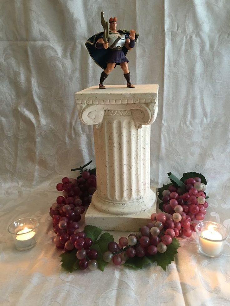 Disney Hercules Centerpiece