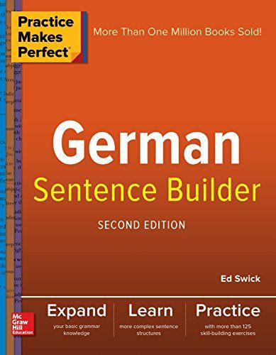 192 best ebooks free ebooks download images on pinterest free practice makes perfect german sentence builder 2nd edition pdf download e book fandeluxe Image collections
