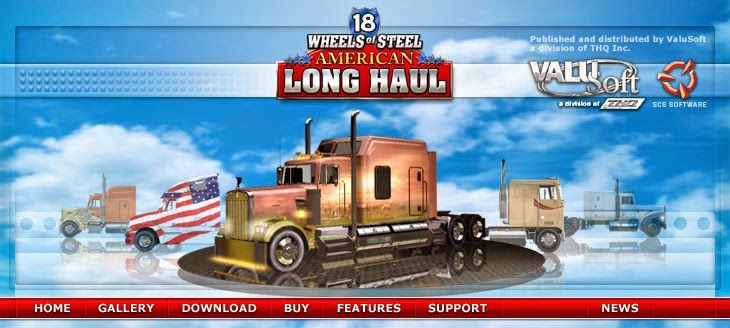 18 Wheels of Steel: American Long Haul Full Version Game with Crack - Softchase