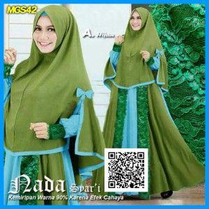 baju-gamis-maxi-nada-syari-mgs42-hijau