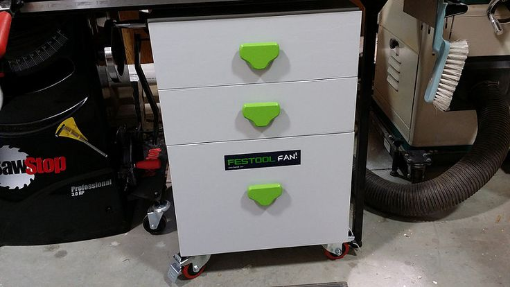 (5) My Festool Table Saw Cabinet