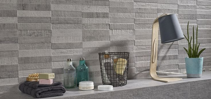 "Concept Share Grey 12""x24"" wall tile"