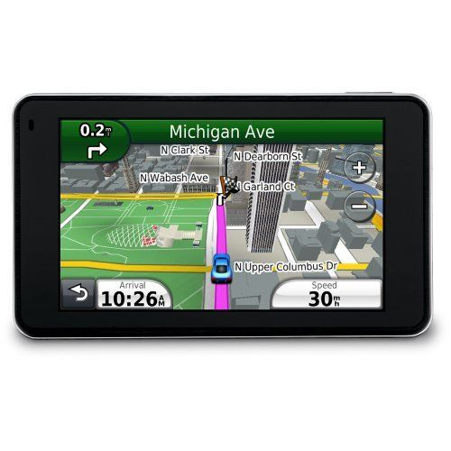 Garmin nüvi 3790T 4.3-Inch Bluetooth Portable GPS Navigator with Lifetime Traffic by Garmin. $249.00. Amazon.com                Experience uniquely personal navigation from the elegantly slim nüvi 3790T. It features a multi-touch glass display, nüRoute™ technology with trafficTrends™ and myTrends™, voice-activated navigation, 3-D building and terrain view, lane assist with junction view, hands-free calling compatibility and subscription-free traffic alerts.       Less ...