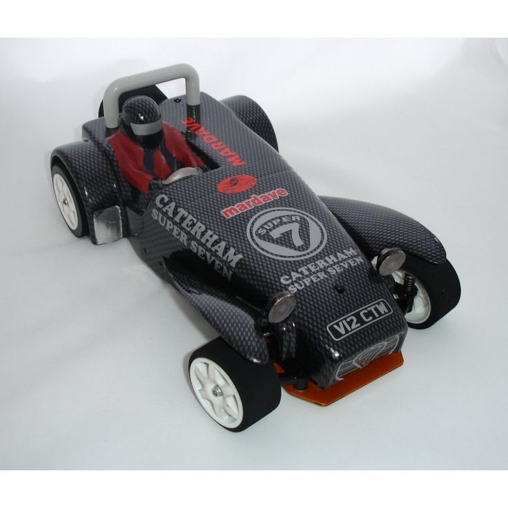 1/12 Circuit : V12CAT - V12 Caterham RC Model Car
