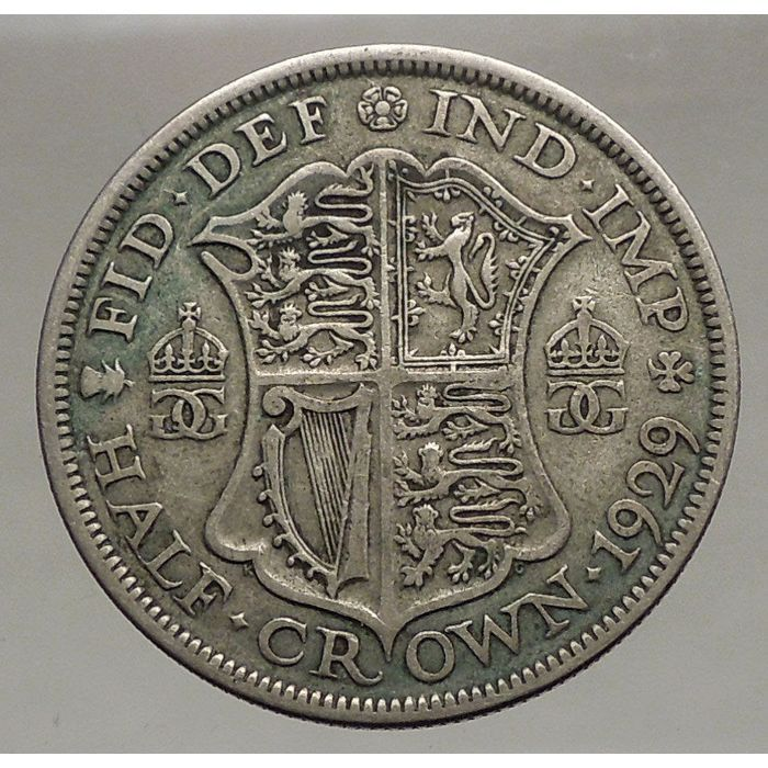 1929 Uk Great Britain Half Crown Silver Coin Nice Listing In The Half Crown United Kingdom Coins Coins Bankno Rare British Coins Silver Coins British Coins