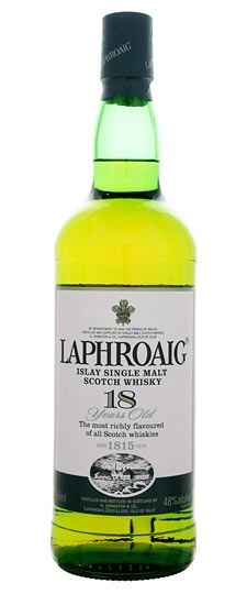 Laphroaig 18 year old, Islay Single Malt Whisky 750ml - SKU 1049366