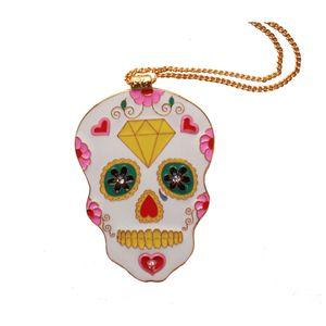 Image of Sugar Skull Necklace