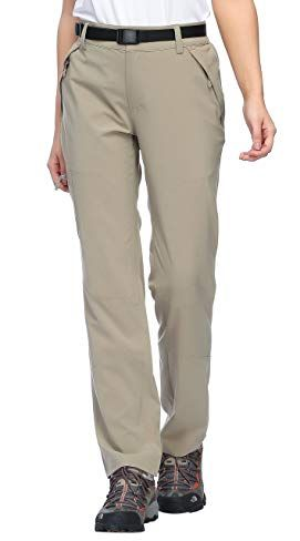 15a59edbb852c MIER Women's Outdoor Cargo Pants Lightweight Stretchy Hiking Pants with  Large Zipper Pockets, Quick Dry Review