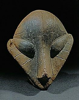 Neolithic Culture near Belgrade used linear A script from Crete and existed parallel to the Ubaid Culture of Iraq. Also they made the above, Reptillian Alien worshipers, or bad sculpture? you be the judge. I side on poor or unrealistic artists.